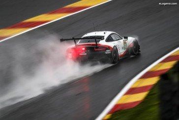 WEC – Porsche sur la 4ème rangée de la grille à Spa-Francorchamps