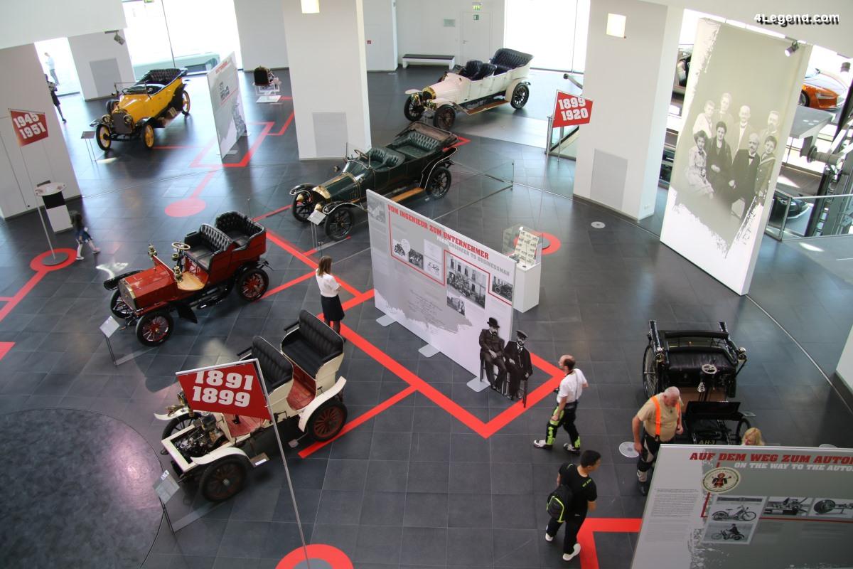 Exposition 150 ans August Horch au musée Audi - Les origines d'Audi