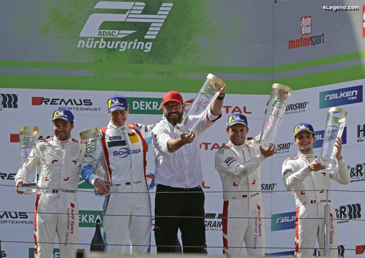 24H Nürburgring 2019 - Photos de la 5ème victoire d'Audi Sport