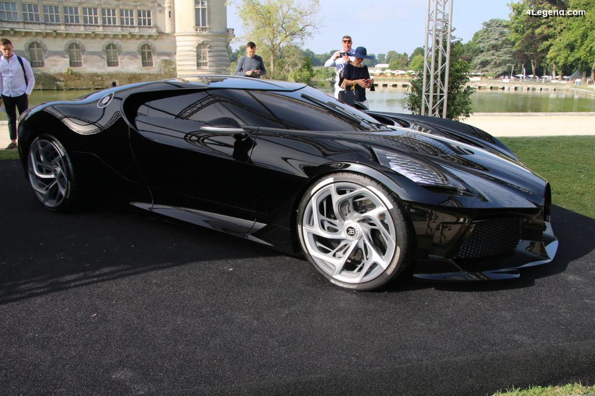 Chantilly 2019 - Bugatti La Voiture Noire