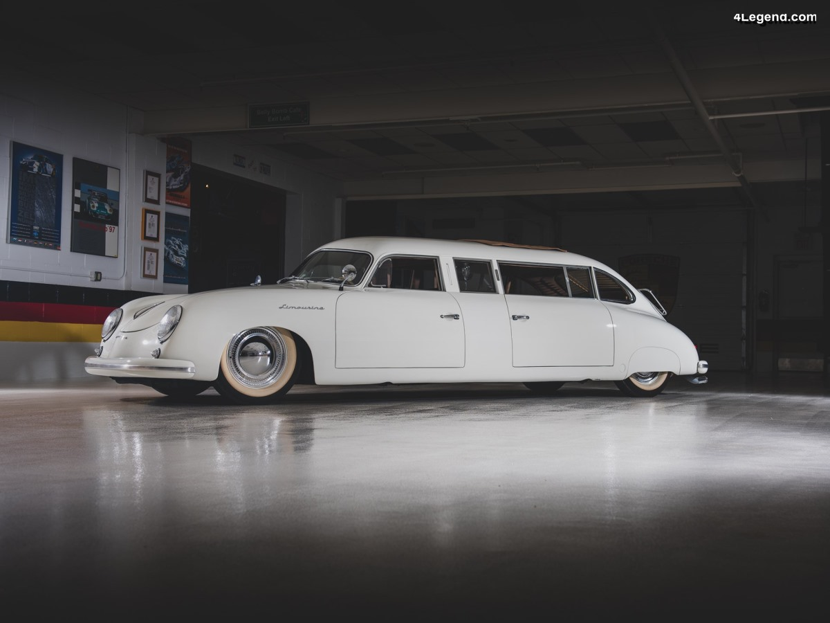 Porsche 356 Limousine de 1953 - Un exemplaire unique de la collection Taj Ma Garaj