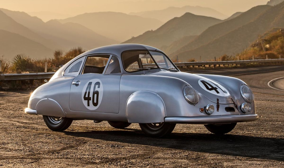 Porsche 356 SL de 1950 - La première Porsche ayant gagné les 24 Heures du Mans en 1951