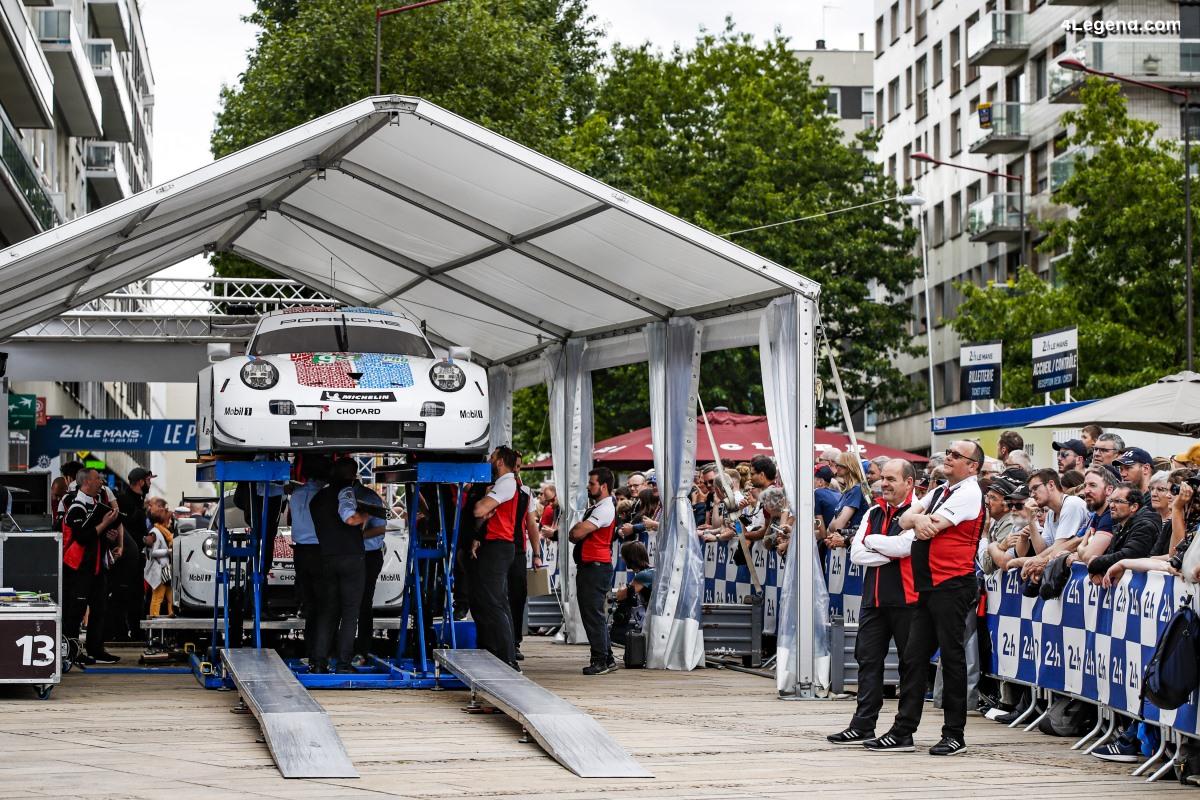 24H Mans 2019 - Journées de pesage des Porsche 911 RSR en images
