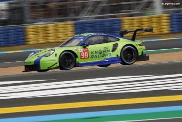 24H Mans 2019 – Abandon de la Porsche 911 RSR n°99 aux essais