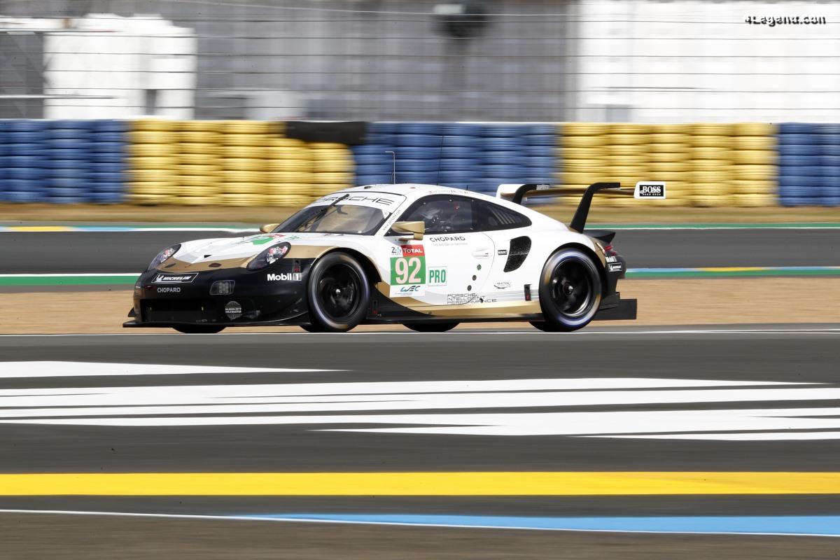 24h Mans 2019 - Photos de la 1ère journée d'essais des Porsche 911 RSR