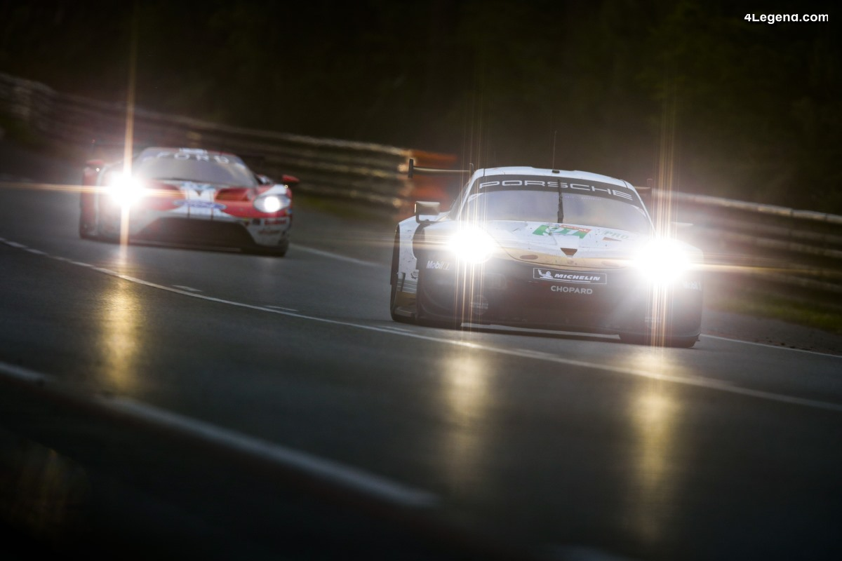 24H Mans 2019 - Porsche en bonne voie pour un nouveau podium