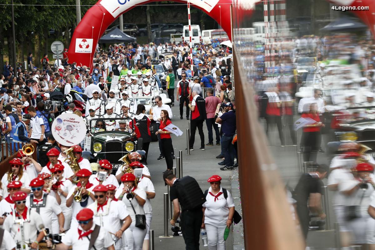 24H Mans 2019 - Photos des équipages Porsche à la Parade des Pilotes