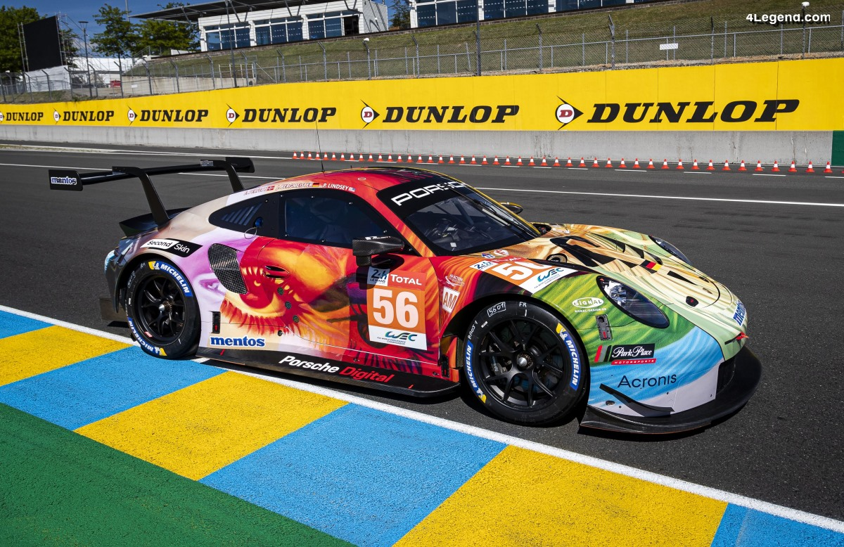 24H Mans 2019 - Porsche 911 RSR Art Car de Project 1