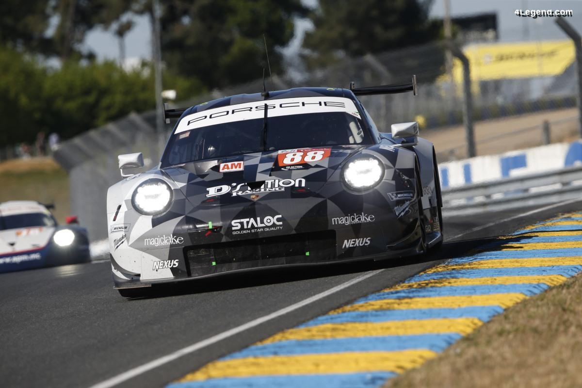 24H Mans 2019 - Pré-test réussi pour les Porsche 911 RSR