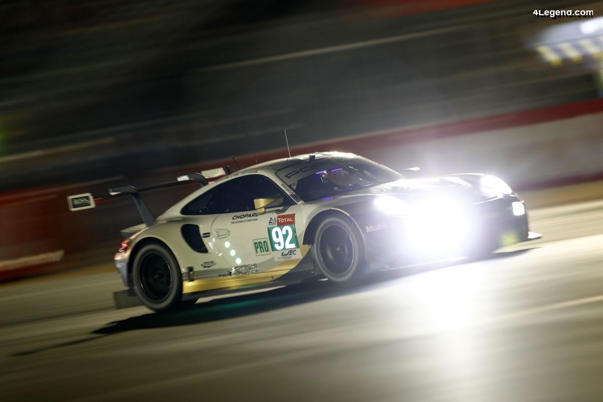 24H Mans 2019 - Photos et résultats de la 1ère journée de qualification des Porsche 911 RSR