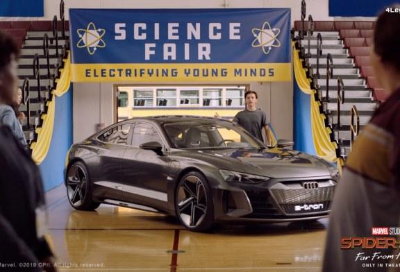 Audi et Sony Pictures Entertainment s'associent pour le contenu numérique «Spider-Man : Far From Home»