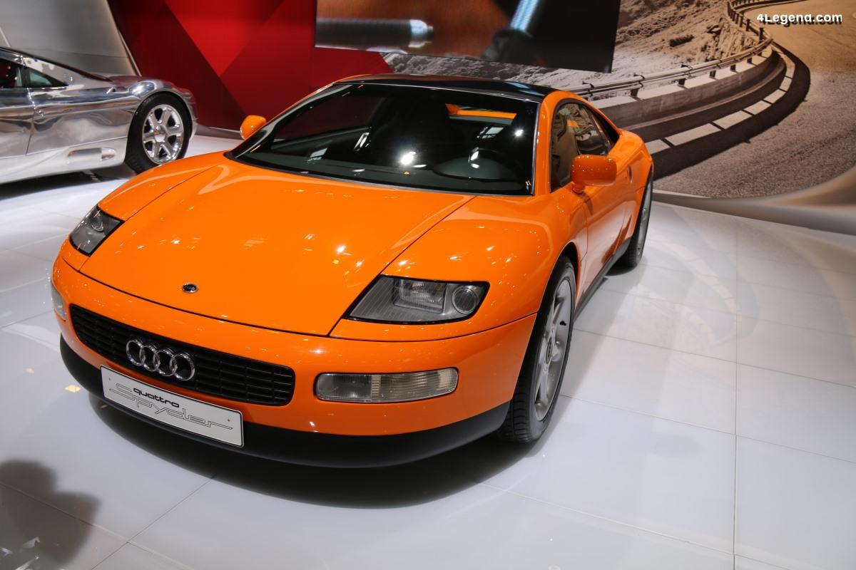 Audi quattro Spyder de 1991 - Un concept de coupé sportif en aluminium