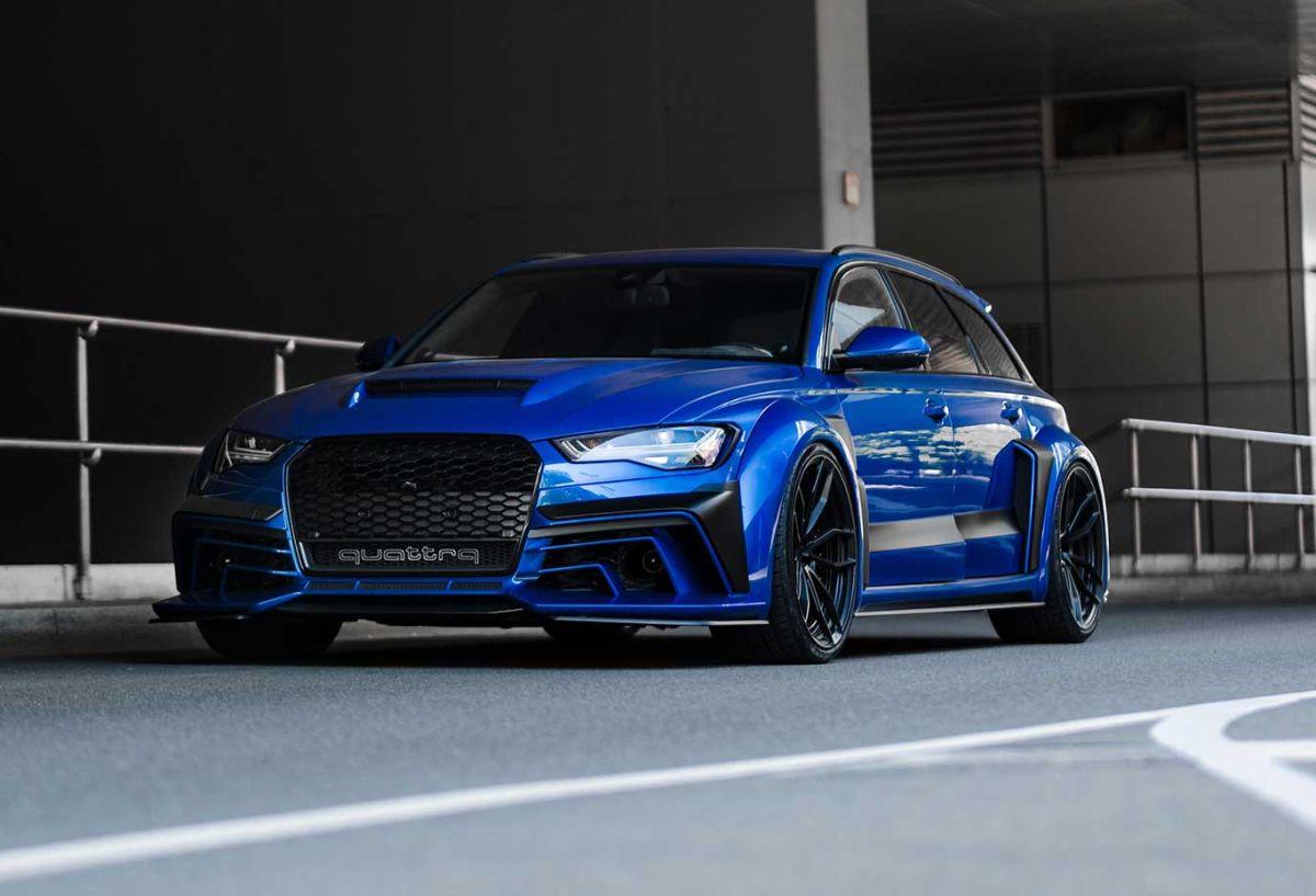 Audi RS 6 DTM Limit 11 - Une version exclusive réalisée par Triebwerk Motors