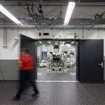 Mise en service d'un nouveau bâtiment pour les essais moteurs Porsche à Weissach