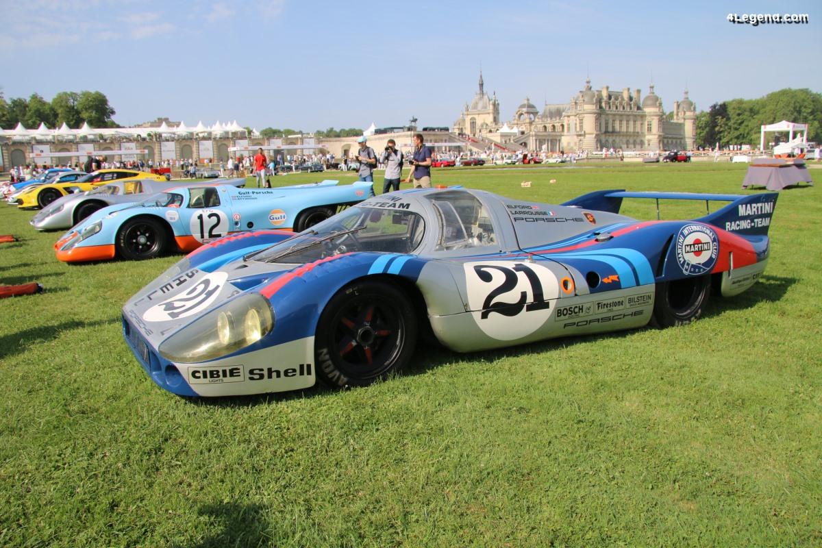 Chantilly 2019 - Hommage aux 50 ans de la Porsche 917