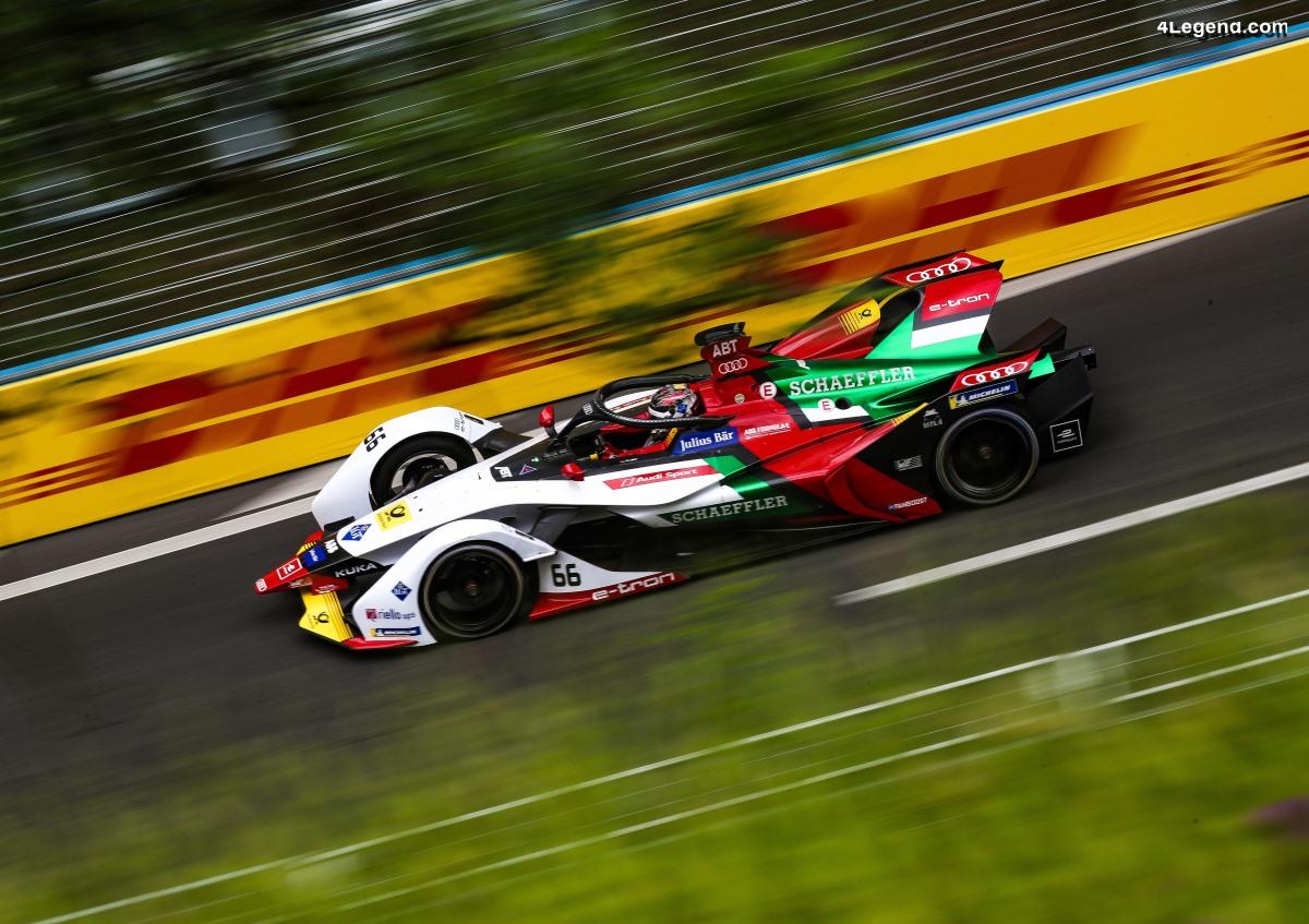 Formule E - Mauvaise course à Berne pour l'équipe Audi Sport ABT Schaeffler