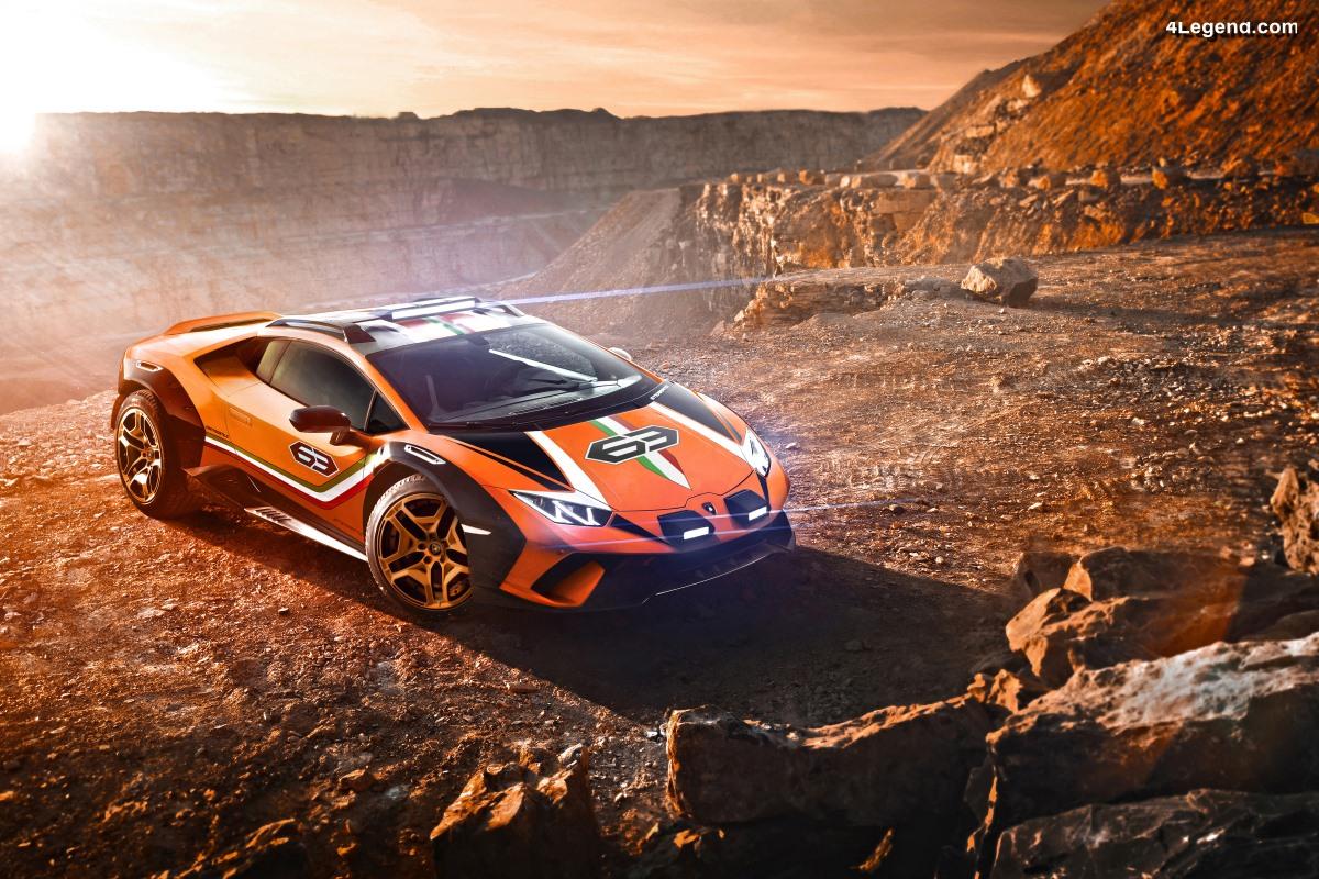 Lamborghini Huracán Sterrato Concept - Un étonnant véhicule tout-terrain
