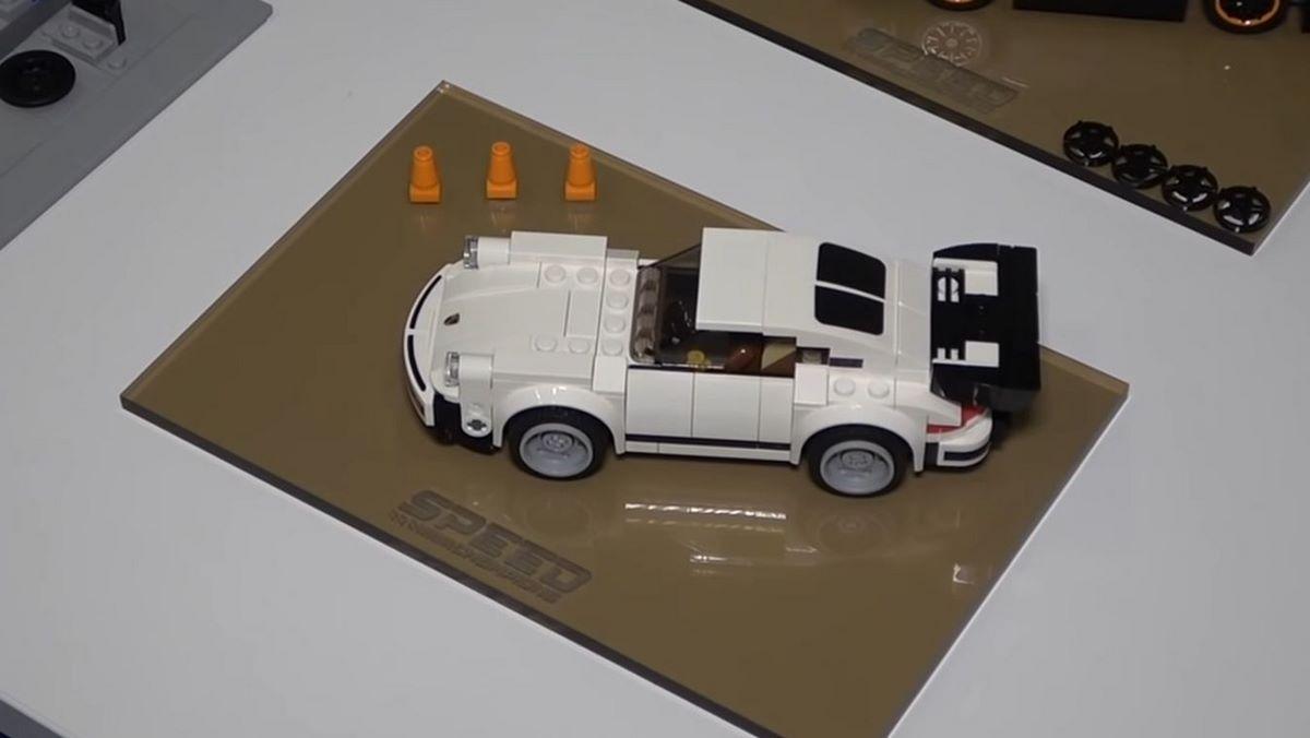Miniature LEGO Porsche 911 Turbo 3.0 de 1974 - Réf. 75895