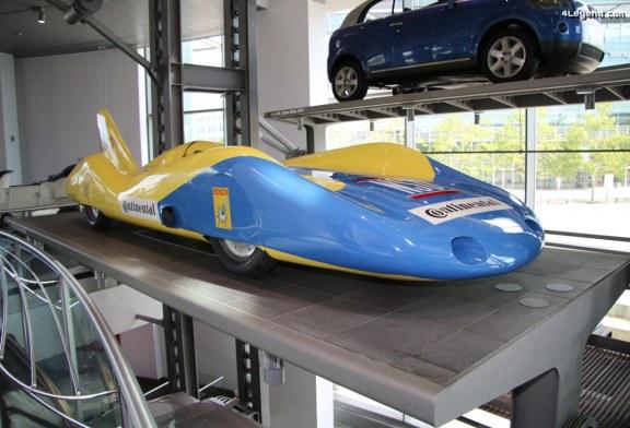 Voiture de record NSU de 1965 – Conçue et pilotée par Wilhelm Herz