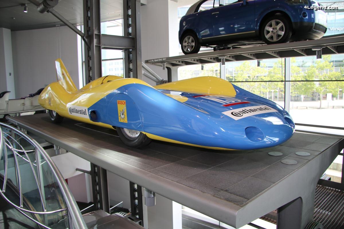 Voiture de record NSU de 1965 - Conçue et pilotée par Wilhelm Herz