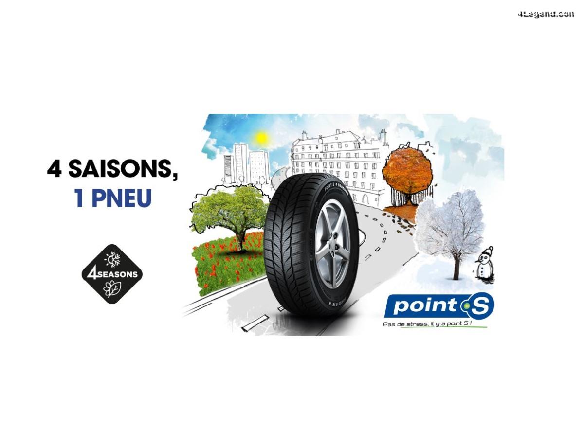 Point S 4 Seasons 2 : la marque de centres auto lance sa seconde génération de pneu toutes saisons.