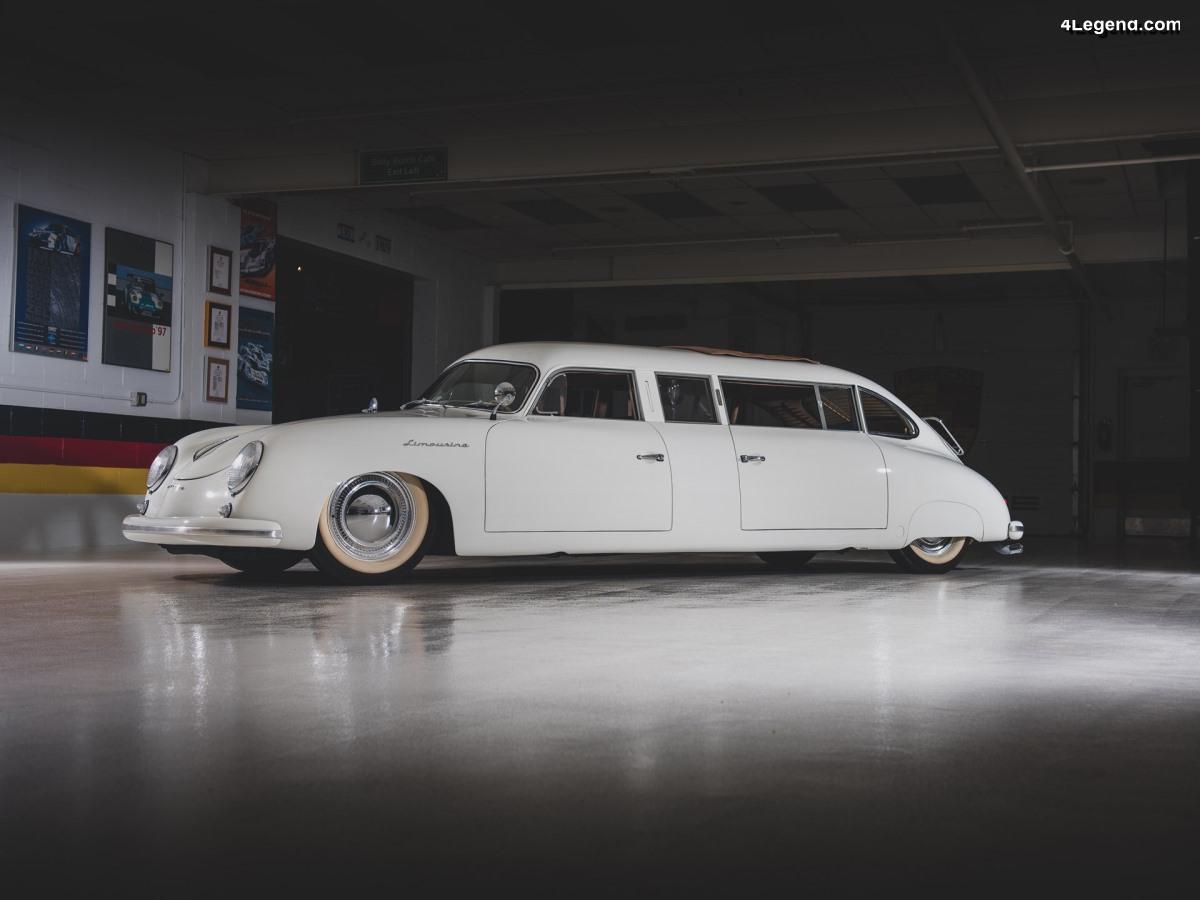 Porsche 356 Limousine de 1953 - Un exemplaire unique de la collection Taj Ma Garaj