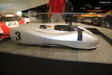 Une étude Porsche 917 des années 1970 sur la voiture de sport du futur