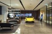 «Porsche Studio Cheongdam» – Un nouveau type de showroom futuriste en Corée du Sud