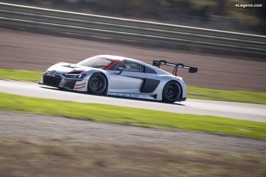 Une future Audi R8 extrême en préparation : propulsion avec des éléments de R8 LMS GT3