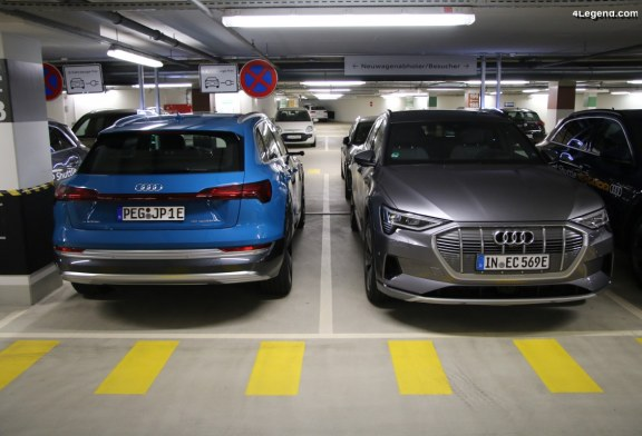 Rappel d'Audi e-tron suite à un possible départ d'incendie