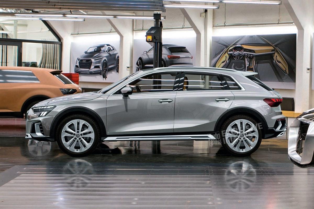 Audi A3 Cityhopper - Un futur crossover basé sur la nouvelle Audi A3
