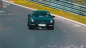 Spyshots Porsche 911 Turbo S type 992