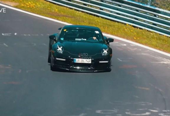 Un son très fort pour la future Porsche 911 Turbo S type 992