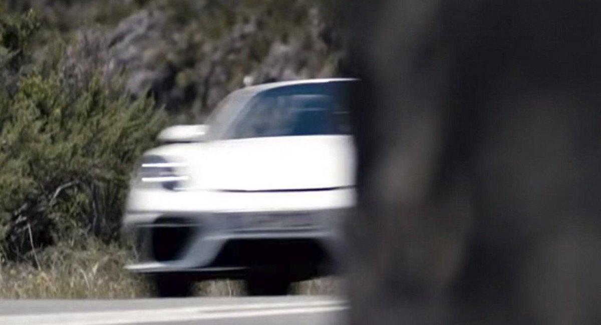 Teaser Porsche 718 Boxster Spyder 2019