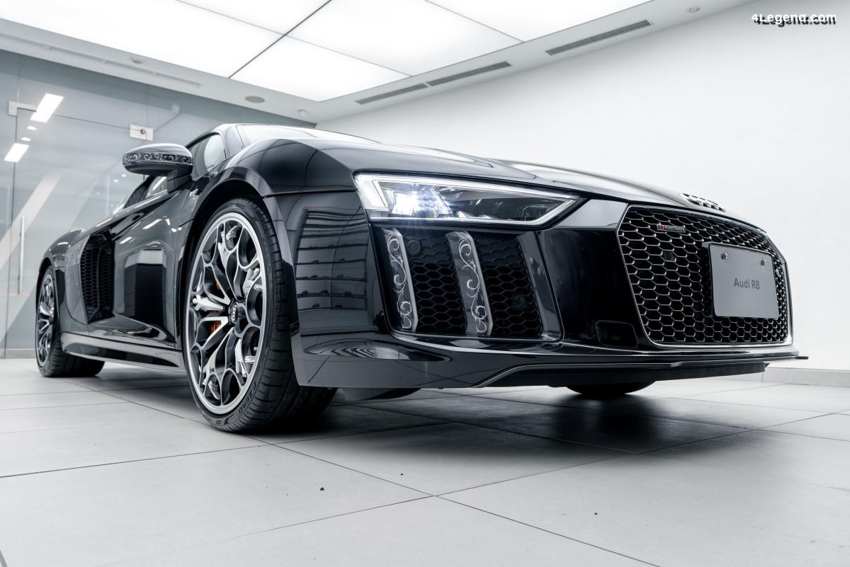 Vente de l'Audi R8 V10 plus