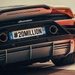 Lamborghini dépasse les 20 millions d'abonnés sur Instagram
