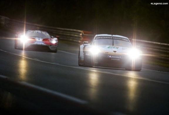 24H Mans 2019 – Porsche en bonne voie pour un nouveau podium