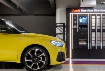 Audi propose une nouvelle expérience de service avec sa station d'entretien digitale 24h/24