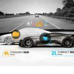 Un affichage tête haute HUD ultra compact développé par Continental pour les supercars