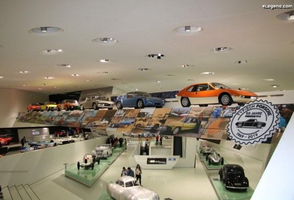 Exposition «50 ans de la Porsche 914» au Porsche Museum