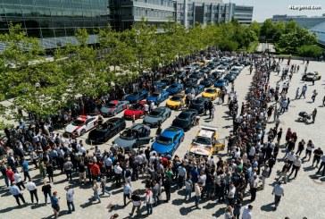Incroyable : Livraison de 38 Audi R8 V10 à l'Audi Forum Ingolstadt