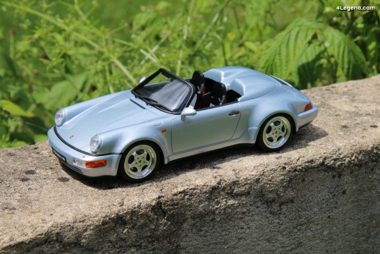 Miniature Porsche 911 Speedster Turbo Look type 964 au 1:18 par GT Spirit