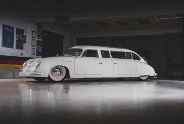 Porsche 356 Limousine de 1953 – Un exemplaire unique de la collection Taj Ma Garaj
