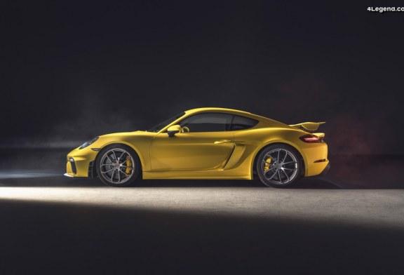 Nouvelles Porsche 718 Spyder et 718 Cayman GT4