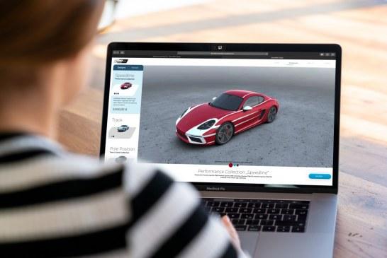 Second Skin – Porsche Digital lance une plate-forme en ligne de covering automobile