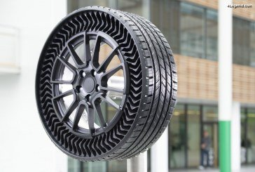 Michelin Uptis : Le premier pneu automobile sans air