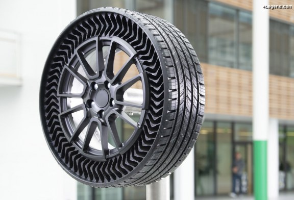 Michelin Uptis : Le premier pneu automobile sans air