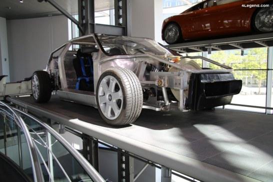 Prototype d'essai de l'Audi quattro Spyder de 1992