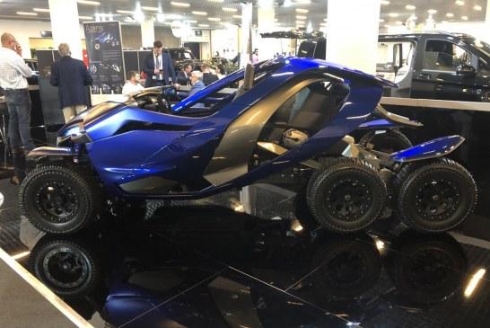 Top Marques – Ferox Azaris : un tout-terrain à 6 roues et 4 moteurs