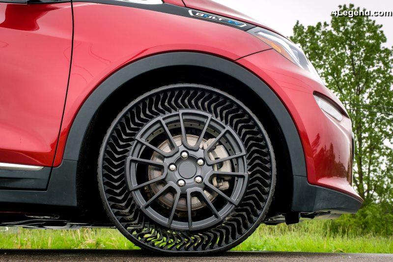 pneu Michelin Uptis Chevrolet Bolt EV